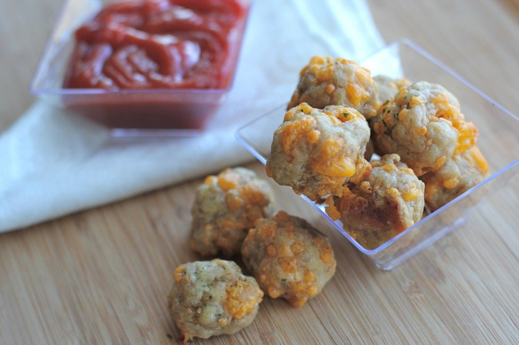 sausage cheese balls recipe without bisquick