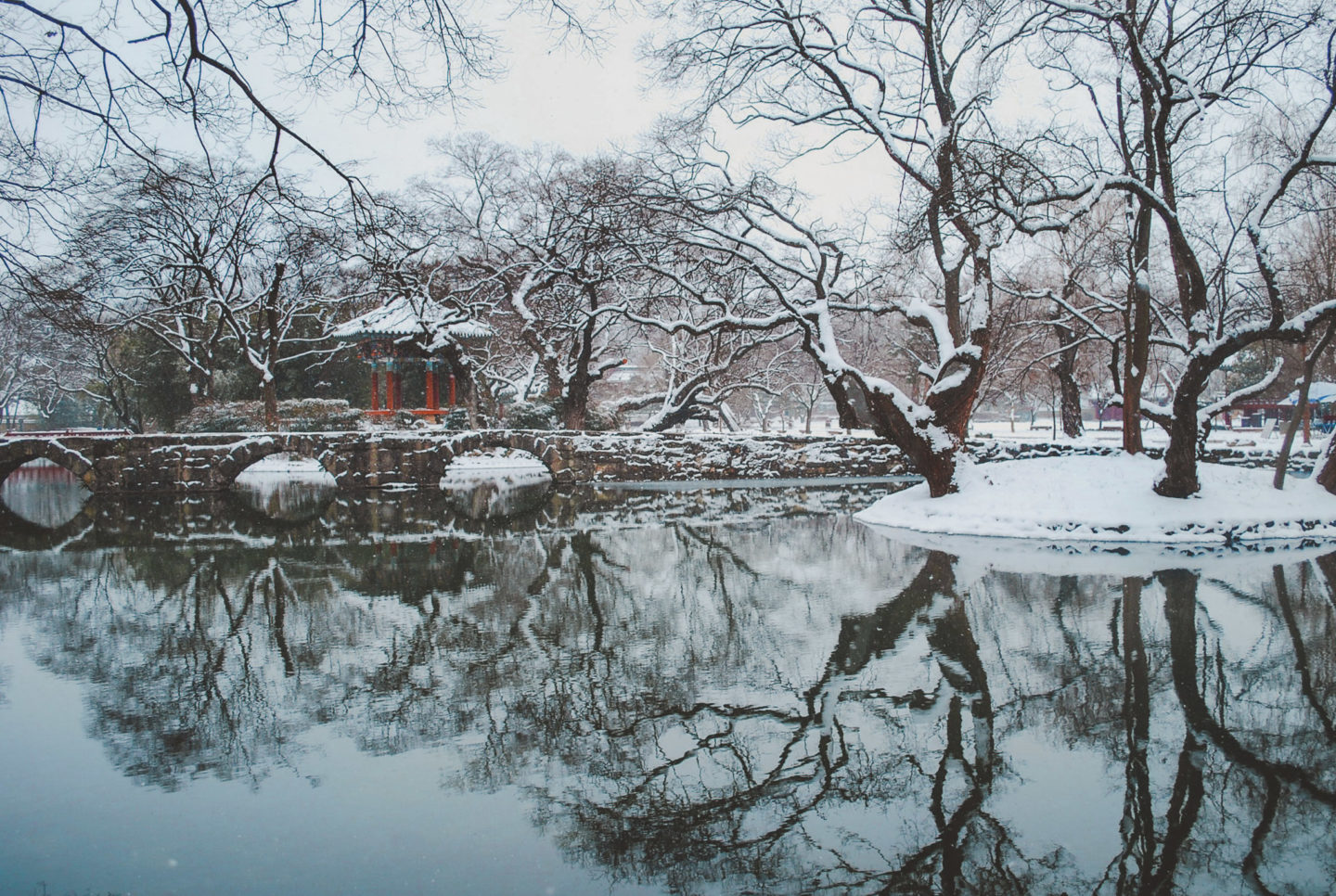 winter at jogyesan
