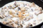 Филе курицы в сливочном соусе на сковороде с шампиньонами – Куриное филе в сливочном соусе с шампиньонами